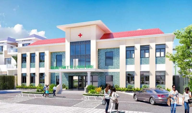 Tiện ích trung tâm y tế tại dự án Đức Hòa Center