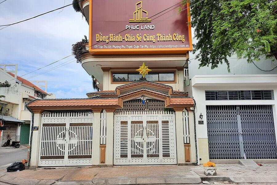 Trụ sở cty Phúc Land tiếp tục tạm ngưng làm việc theo chỉ thị 16 của UBND TPHCM