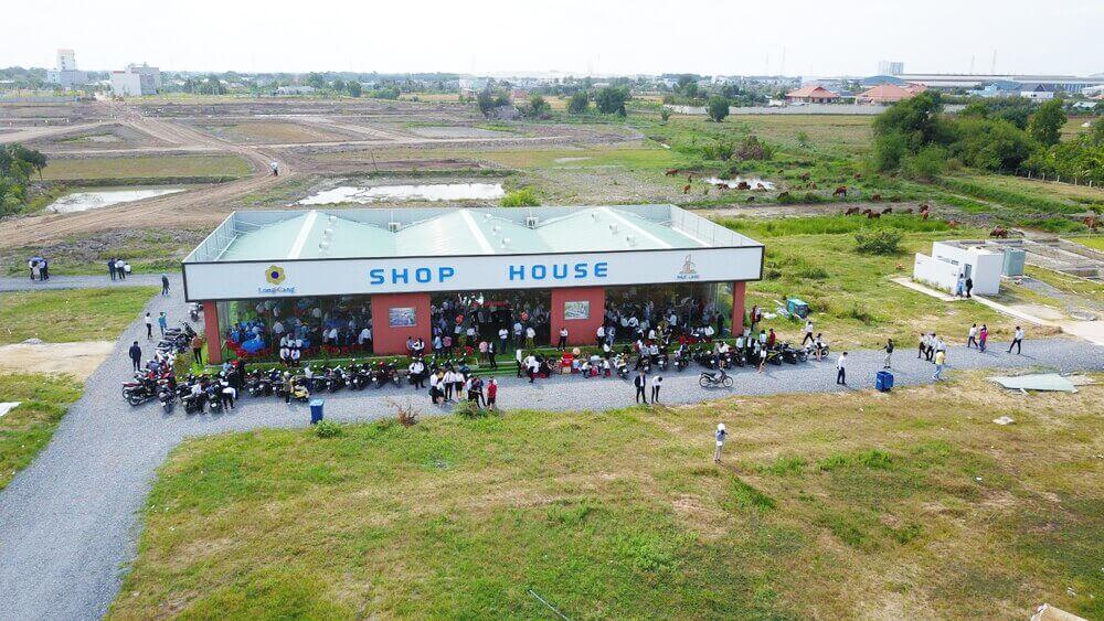 Hình ảnh Flycam thực tế mới nhất dự án Long Cang Riverpark (tt)