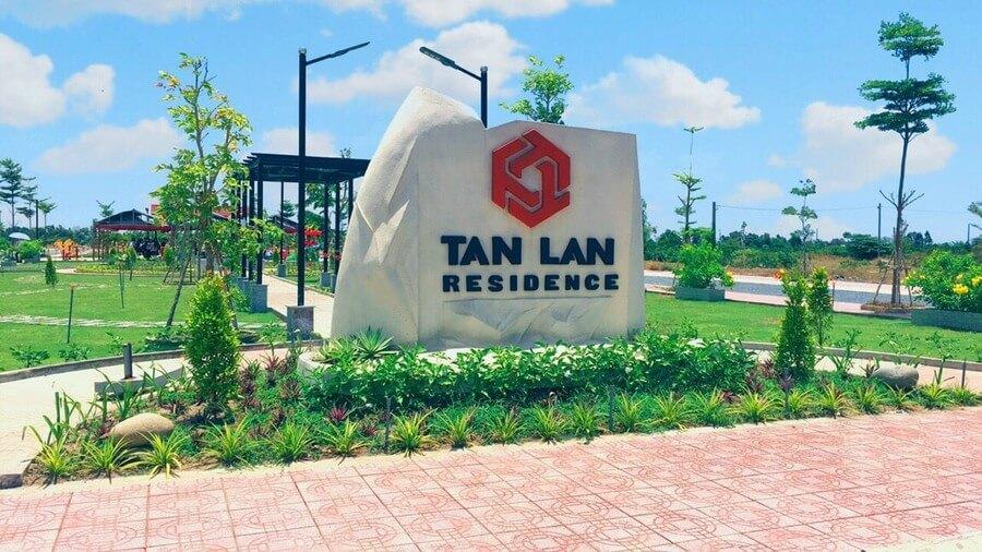 Hình ảnh hoàn thiện logo dự án Tân Lân Residence