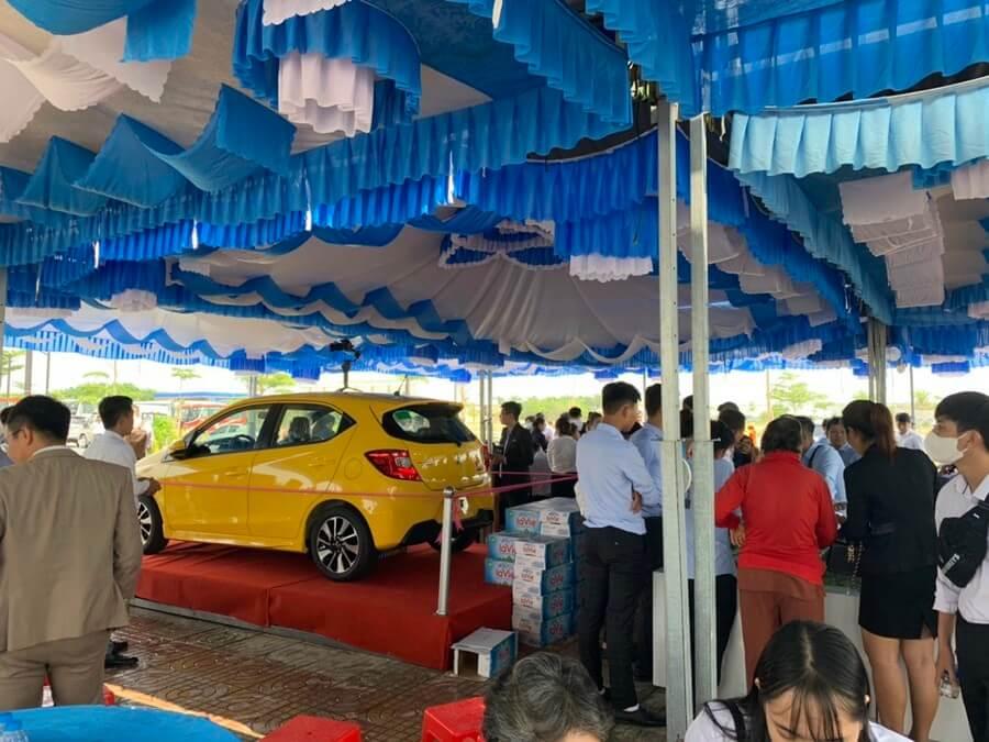 Khách hàng giao dịch thành công dự án Tân Lân Residence sẽ có cơ hội bốc thắm thưởng xe oto Honda Brio RS 2021