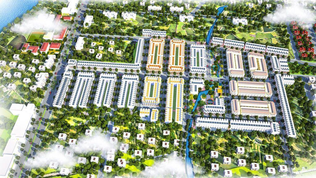 Phối cảnh tổng quan dự án Tây Nam Center chủ đầu tư Tây Nam Land