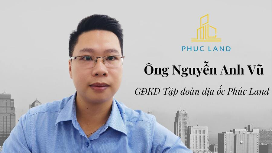 Ông Nguyễn Anh Vũ - Giám đốc kinh doanh Phúc Land Group nhận định thị trường căn hộ cho thuê trong đại dịch
