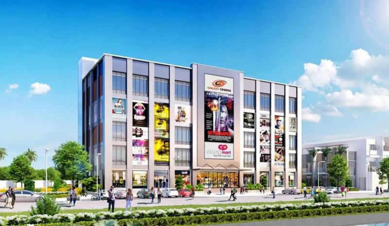 Tiện ích trung tâm thương mại và rạp chiếu phim Đức Hòa Center