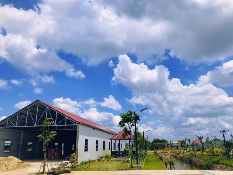 Tập đoàn Phúc Land khẩn trương xây dựng tiện ích TTTM bên trong dự án