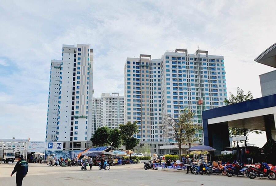 Hình ảnh thực tế thi công mới nhất dự án Akari City Bình Tân