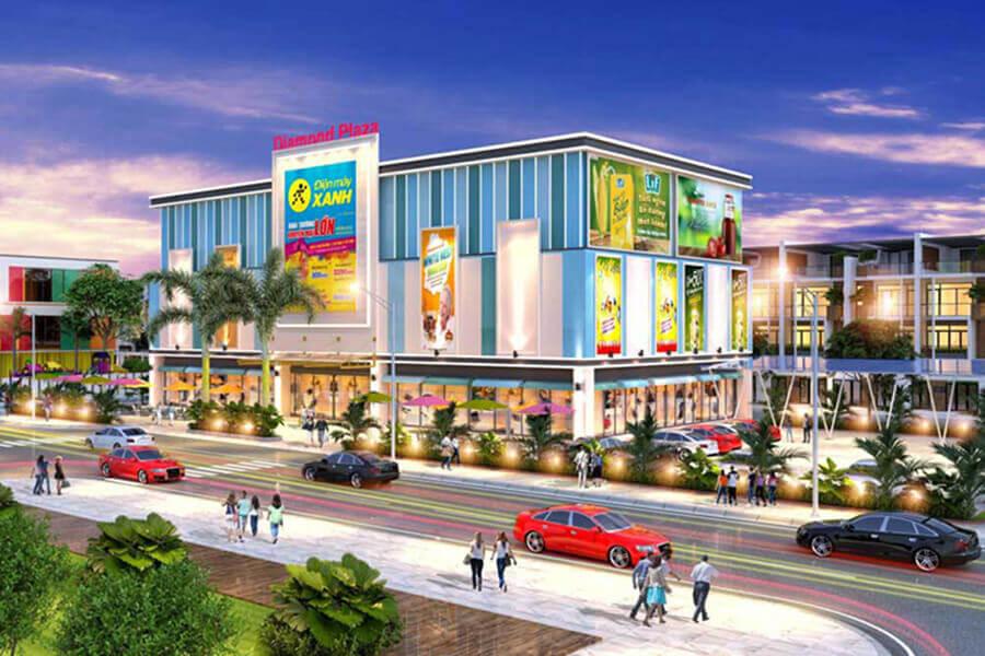 Tiện ích trung tâm thương mại tại dự án Tân Lân Residence