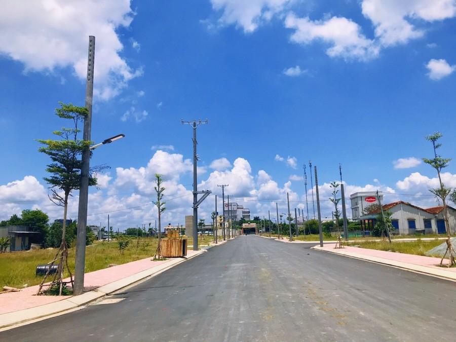 Phúc Land - Hạ tầng dự án khu đô thị Tân Lân Residecne tại Cần Đước - Long An