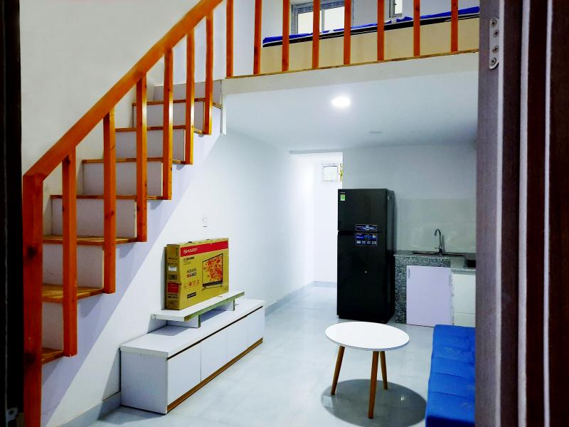 Hình ảnh thực tế căn hộ mẫu Chung Cư Mini Tân Đức