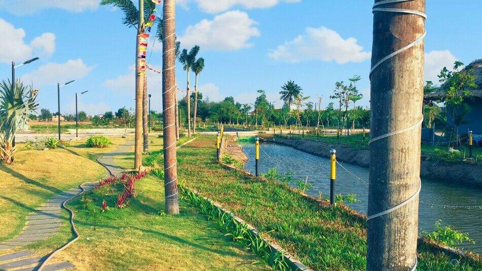 KDC Long Cang - Long Cang Riverpark là sự kết hợp hài hòa giữa yếu tố sinh thái tự nhiên và quy hoạch thông minh. Ảnh: Phúc Land Group