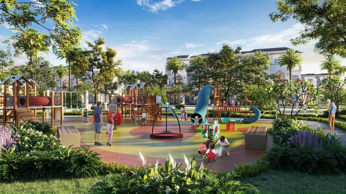 Phối cảnh một dự án khu dân cư tại Long An do Tập đoàn Phúc Land làm chủ đầu tư