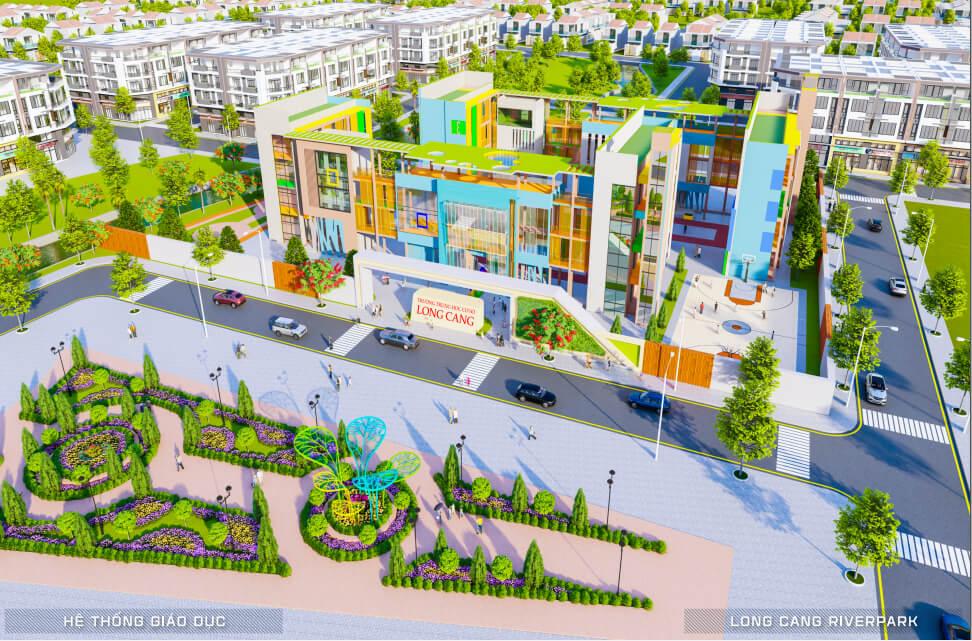Hệ thống trường mầm non & trường tiểu học Long Cang Riverpark