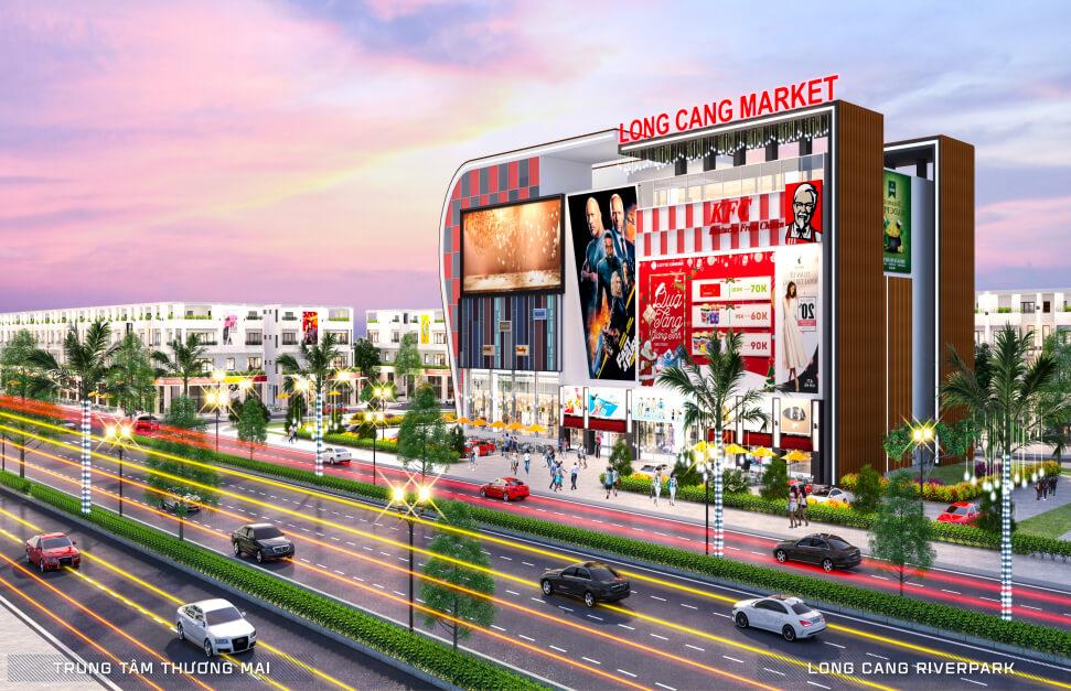 Trung tâm thương mại khu đô thị Long Cang Riverpark