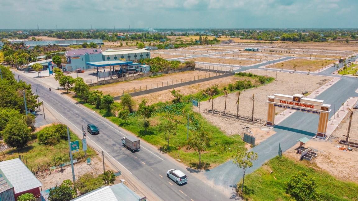 Khu đô thị Tân Lân Residence mặt tiền quốc lộ 50 do địa ốc Phúc Land làm chủ đầu tư